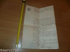 ACTE DE DECCES 1888 GIRONDE ST GERMAIN DE PUCH