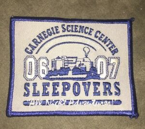 Carnegie Science Center 06-07 Sleepovers Patch - North Shore Pittsburgh