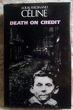 Louis-Ferdinand Céline DEATH ON CREDIT  1st Brit HB/ DJ 1989