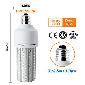 110V Outdoor Lamp Bulb 20W E26 White Indoor Street Led Corn Light Energy Saving