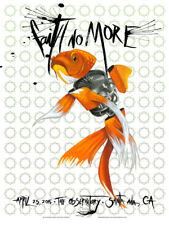 FAITH NO MORE silkscreened poster Santa Ana 2015 by Robert Bowen
