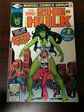 1980 MARVEL COMICS SAVAGE SHE-HULK #1 1ST APP ORIGIN OF SHE-HULK LOW GRADE KEY
