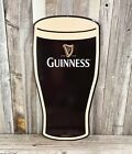 Guinness Beer Pint Glass Metal Tin Sign Retro Vintage Style Garage Man Cave New