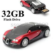 32GB Cool CAR USB 2.0 Flash Pen Drive Memory Stick Storage U Disk Student Gifts