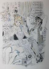 1951 Mac Orlan Gaston Barret Les Dés pipés Fanny Hill 1/50 ex suite Bibliophilie