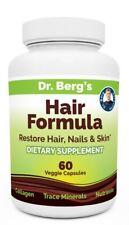 Dr. berg's hair formula Strong Hair Nails and Youthful Skin 60 capsules