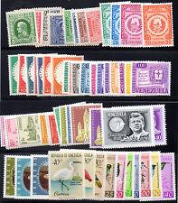 Venezuela, Sc. ##250//885, MH. 12 Sets plus 1 Single. SCV 77.75. RG4.134