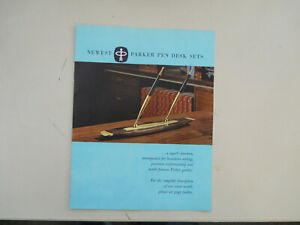 Parker Vintage Desk Set Catalogs--16 pages--July 1961