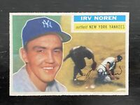 1956 TOPPS IRV NOREN #253 Well Centered!!, Sharp Corners, Very Clean, Mint!!!