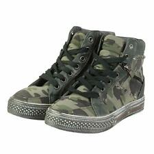 Camouflage Casual Synthetic Boots for Women