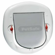 PetSafe 4-fache Haustierklappe Hundeklappe Katzenklappe Freilauftür 280 5001