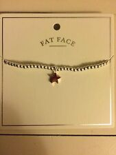 Fat Face Star Bracelet New With Tags BNWT Jewellery Gift