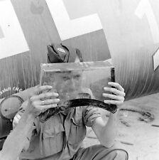 WW2 Photo WWII  German Luftwaffe Me109  Western Desert 42  World War Two /6156