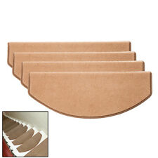 Grey Coffe Carpet Stair Tread Mats Step Staircase Floor Mat Non Slip Cover Pads