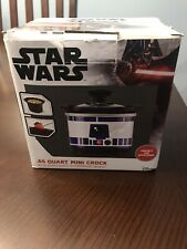 Disney Star Wars R2D2 Mini Crock Pot Cooker .65 Quart NIB (not a toy)