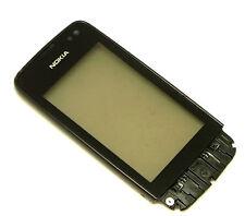 Original Nokia Asha 311 Touchscreen Digitizer Touch Glas + Hörmuschel + Rahmen