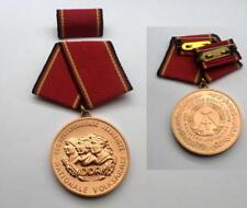 DDR NVA stasi MEDAGLIE MEDAGLIA MEDAGLIA al merito Bronzo-fa. East German Army Medal