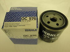 Citroen Xsara 1.9D 1.9TD  2.0HDi Diesel  Oil Filter 97-06  MAHLE OC976