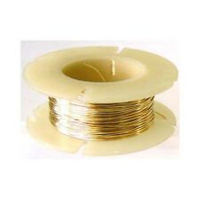 30 gauge Dead Soft 14k yellow Gold Filled WIRE Beading Wrapping Round .5 oz 107'