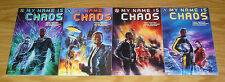 My Name Is Chaos #1-4 VF/NM complete series - prestige format - afrocentric hero