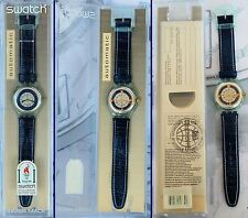 SWATCH AUTOMATIC Milchstrasse WAY LATTEA SAG402 del 1995 NEW with box