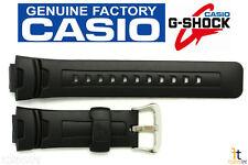CASIO G-Shock G-7500 16mm Original Black Rubber Watch BAND Strap G-7510 G-7500G