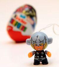 THOR KINDER Surprise Toy Super Hero Marvel Figura Cake Topper Nuova Chiave Anello