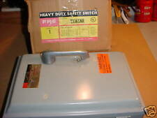 FPE 30 AMP HD FUSED SAFETY SWITCH 1336SNR NEW IN BOX