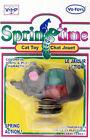 SpringTime Mouse Cat Toy vinyl/Plastic