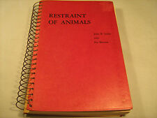 Paperback RESTRAINT OF ANIMALS John R Leahy & Pat Barrow 1953 [Y35]