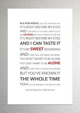 Two Door Cinema Club - What You Know - Colour Print Poster Art