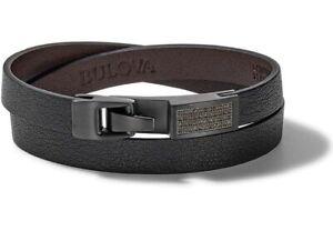 Bulova Mens Precisionist Wrap Bracelet