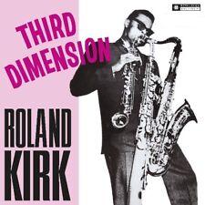 ROLAND KIRK - THIRD DIMENSION   VINYL LP NEW+