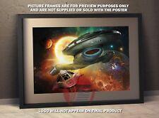 Star Trek Voyager A3 poster