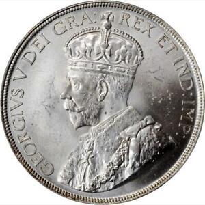 1936 Canada Dollar. PCGS MS 64. KM-30. Brilliant White.