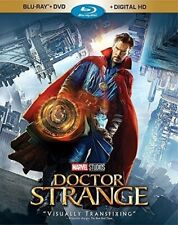 Doctor Strange BLU-RAY & DVD Benedict Cumberbatch Marvel Movie Dr BRAND NEW