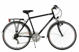 "VTC Homme 21 Vit 28"" Vegas Noir Vélo Neuf Guidon Plat KS Cycling M101T"