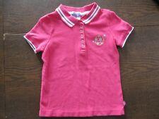 Danskin Now Girl's Size XS (4/5) Short Sleeve Polo Shirt