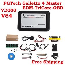 Neu Latest Version VD300 V54 FGTech Galletto 4 Master Work for BDM-OBD All Cars