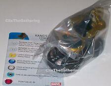 KANG'S TIME CHAIR #064 Nick Fury Agent of S.H.I.E.L.D Marvel HeroClix Chase Rare