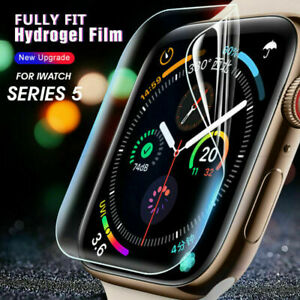 For iWatch Series 1 2 3 4 5 Apple Watch Screen Protector Hydrogel Film Cover