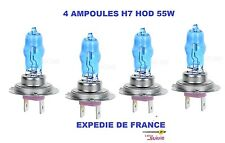 SET 6 AMPOULES XENON HOD H7 H3 55W +30% PHARE COMPLET