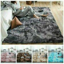 Hairy Carpet Balcony Round Rectangular Carpet Faux Fur Rugs Bedroom Mat Soft