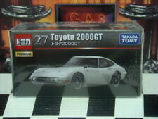 TOMICA PREMIUM #27 TOYOTA 2000GT 1/59 SCALE NEW IN BOX