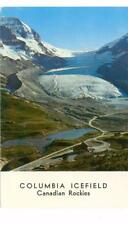 Alberta, Canada Columbia Icefield, Canadian Rockies unused postcard