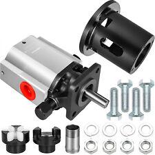 Vevor 13gpm Log Splitter Pump Withcoupler Set And Pump Mount 2 Stage Gear Pump