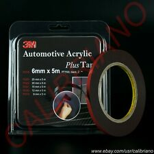 3M ™ Automotive Acrylic Plus Tape PT1100 Black 0.043in X 5.5yd / 5m X 1.1mm Foam