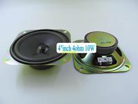 """1pcs 4""""inch 100mm 4Ω 4ohm 10W full-range Speaker Loudspeaker stereo Audio"""