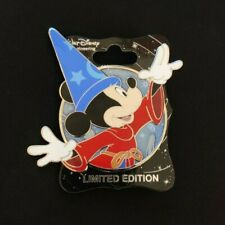 Sorcerer Mickey Through the Years Profile Pin WDI Mickey's of Glendale LE 300