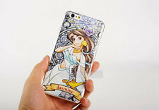 Beautiful Cartoon Princess PC Hard Back Phone Case For iPhone X 5 6 6S 7 8 Plus
